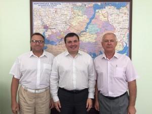 Робоча зустріч з головою обласної державної адміністрації