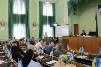 Пройшла ХХІІІ сесія Херсонської обласної ради VII скликання