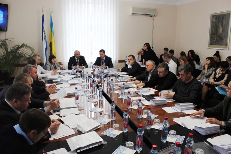 Засідання Президії Херсонської обласної ради